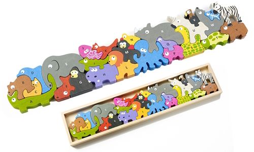 MUST-HAVE MONDAY: BeginAgain Animal Parade Puzzle A to Z