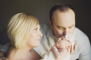 lifestyle newborn photo