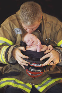 personalized newborn photos